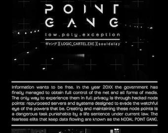 "NODAL POINT GANG Hacker Elite Print (7.5"" x 11"")"