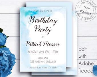 kids party invitation templates