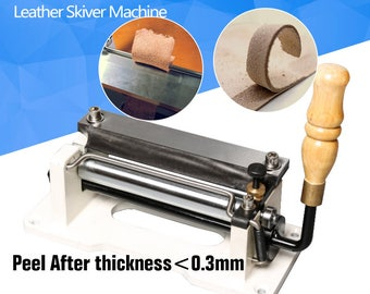 "FREE SHIPPING Manual leather skiver 6"" inch , handle leather peel tools,DIY shovel skin Machine,leather splitter"