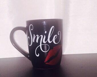 Smile Coffee Cup, Mug, Drinkware