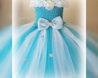 29ec77d86 Frozen tutu dress | Etsy