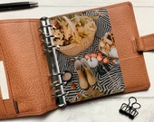 Autumn Picnic Dashboard - Fits A5, B6, Personal Wide, Personal, A6, Pocket, Mini Ring Planners. Protective Cover.