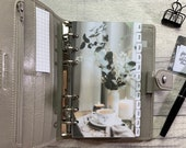 Neutral Theme Personal Planner Dividers, Photographic, Monthly Tabs. Organise your calendar with these gorgeous seasonal dividers