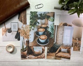 A5 Warm Ochre Planner Dividers, Photographic Side Tabs. Organise your planner with custom headings. Filofax, LV GM Agenda & Kikki K Large