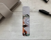 Photo Page Marker - Luxe Candle - Choose A5, B6, Personal Wide, Personal, A6, Pocket, Mini - Add Custom Text - Planner Bookmark