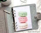 B6 Planner Dashboard - Protective Cover for Ring Planner Inserts - Macarons