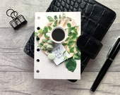 Pocket Size Planner Dashboard - Protective Cover for your Ring Planner Inserts - Enjoy the Little Things - Mindfulness