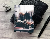 Pocket Size Planner Dashboard - Protective Cover for Ring Planner Inserts - Typewriter - Typing - Writing