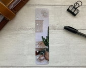 Photo Page Marker - Macrame and Cactus - Choose A5, B6, Personal Wide, Personal, A6, Pocket, Mini - Add Custom Text - Planner Bookmark