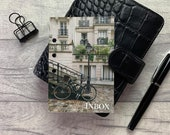 Paris Inbox - Architecture Dashboard - Fits A5, B6, Personal Wide, Personal, A6, Pocket, Mini Ring Planners. Protective Cover.