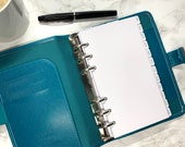 Monthly Planner Dividers. Personal Size for Minimal and Modern Planning.