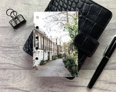 Pocket Size Planner Dashboard - Protective Cover for your Ring Planner Inserts - London Cobbled Street