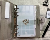 Personal Size Planner Dashboard - Protective Cover for your Ring Planner Inserts - Pretty Window