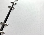 Dot Grid Paper - Cut and Punched for Your Own Layouts - Bright White, Smooth 28lb, 100gsm Paper.