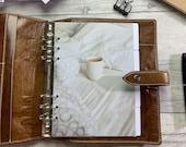 A5 Neutral Planner Dividers, Photographic Side Tabs. Organise your planner with custom headings. Filofax, LV MM Agenda & Kikki K Med