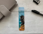 Photo Page Marker - Mountain Coast - Choose A5, B6, Personal Wide, Personal, A6, Pocket, Mini - Add Custom Text - Planner Bookmark