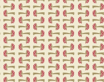 By 1//2 Yard Forest Floor In the Thicket Dawn Art Gallery Fabric AGF Rabbit Bunny
