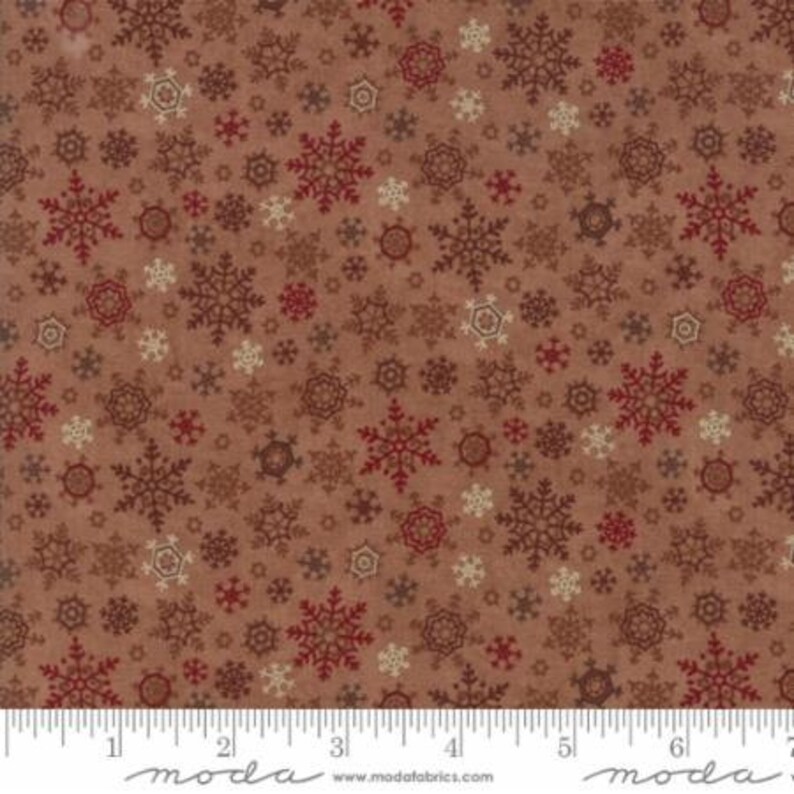 By 1//2Yd Moda Fabric Holiday in the Pine Holly Taylor Christmas Red Green Stripe