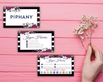 Piphany Business Card, Personalized Piphany Card, Custom Piphany Business Card, Piphany Marketing, Printable Business Card PP79