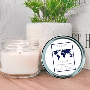 15 oz Double Wick Candle Vegan Candle 15 oz Natural Soy Candle Butt Naked Scented Gift Idea Fruity Soy Candle Scented Candle