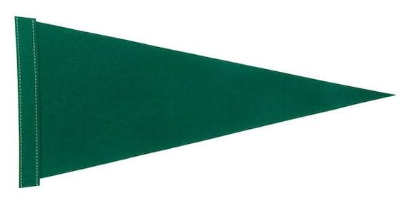 Assorted Sizes 10 Purple Felt Blank Pennant Flag