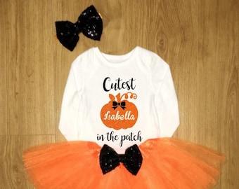532dbc04b422 Halloween baby girl
