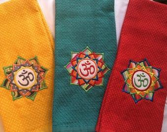 OM Yoga Inspired Kitchen Towel