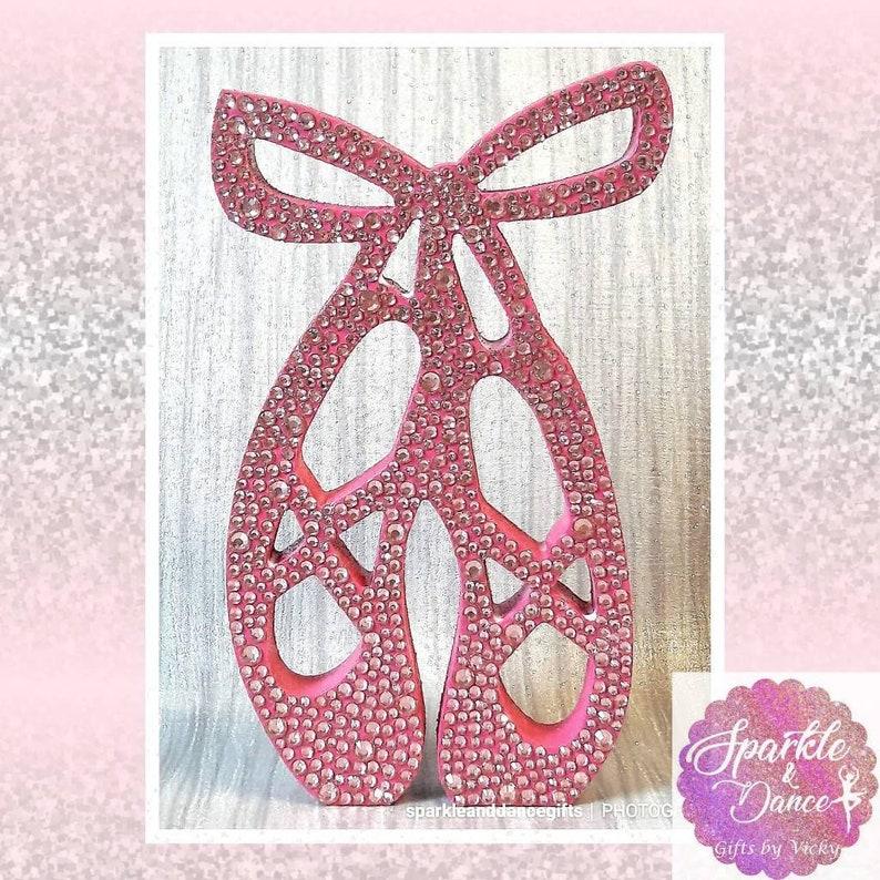 1c2ec978356f1 Ballerina Ballet Shoes - Ballet slippers for girls - Dance Gifts for girls  - Ballerina, Ballet Dancer Gifts for Bedroom or dance studio