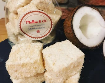 Toasted Coconut Gourmet Marshmallows