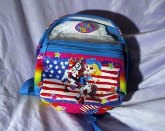 6d9cef899a6 Lisa Frank Backpack - Cowgirl