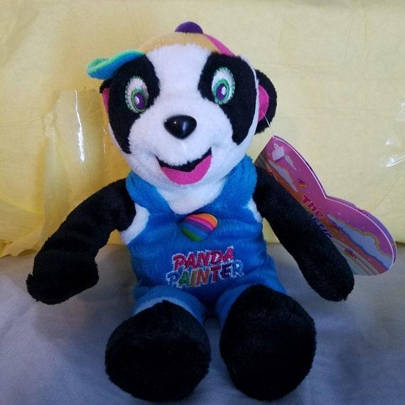 Lisa Frank fantastic beans by stuffins PANDA PAINTER the bear  ecefe867d1e5
