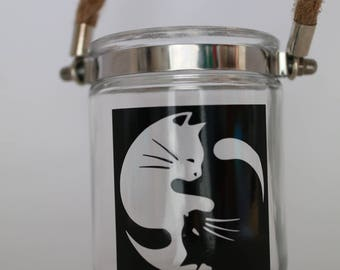 Yoga inspired candle holder