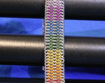 Pride Colors Dragon Scale Bracelet
