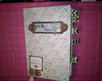 Family Themed Junk Journal