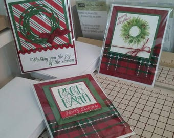 Varied Christmas cards