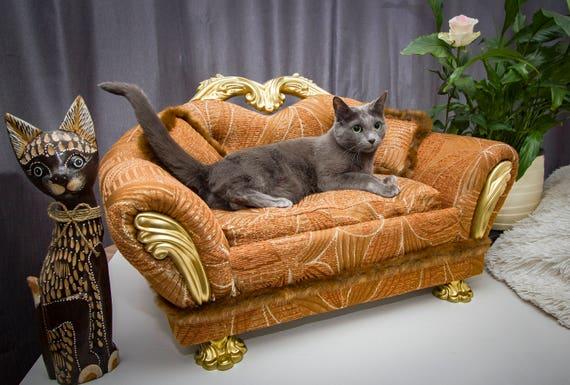 Pet Sofa Bed Pet Bed Dog Bed Sofa Sofa Mini Luxury Cat Etsy