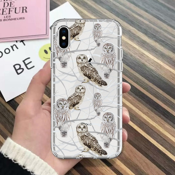 coque iphone xr hiboux
