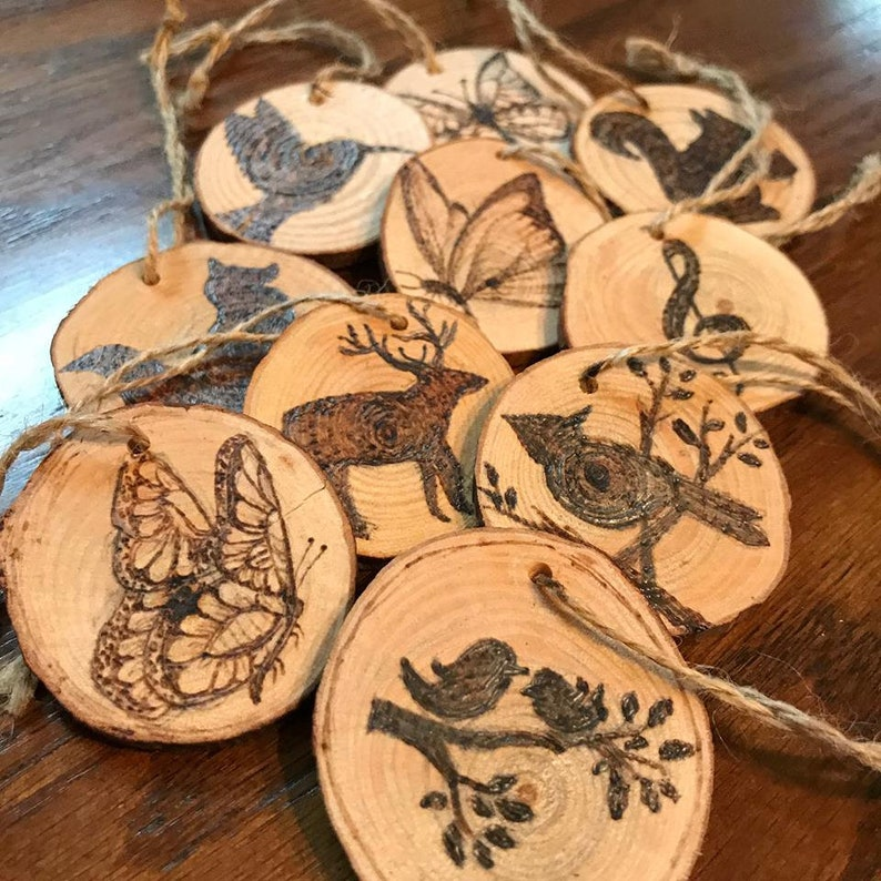 Nature /& Wildlife Silhouette Ornaments