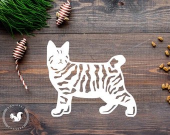 Pixie bob cat | Etsy