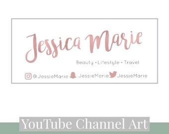 Youtube Channel Art   Youtube Outro   Youtube Endslate    Youtube Banner   Youtube Profile   Social Media   Branding