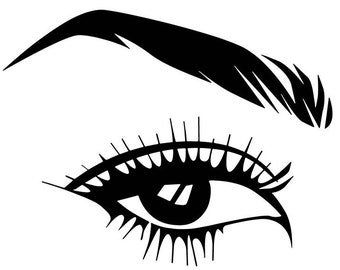 Eyeball Svg Etsy Rh Com Digital Drawing Pretty Eyes Side Nose