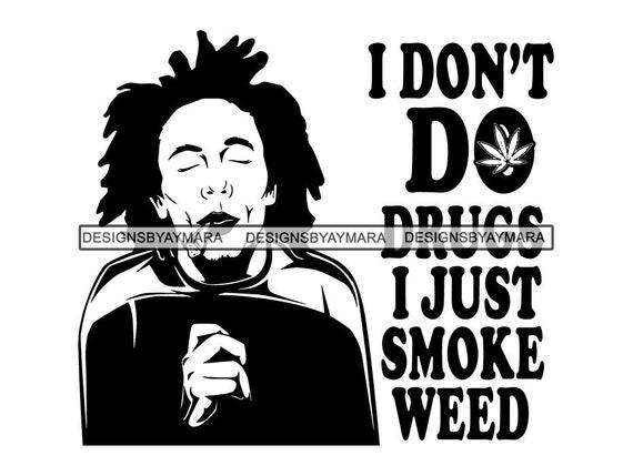 Man Smoking Weed Blunt Cannabis Medical Marijuana 420 Dope Pot Etsy