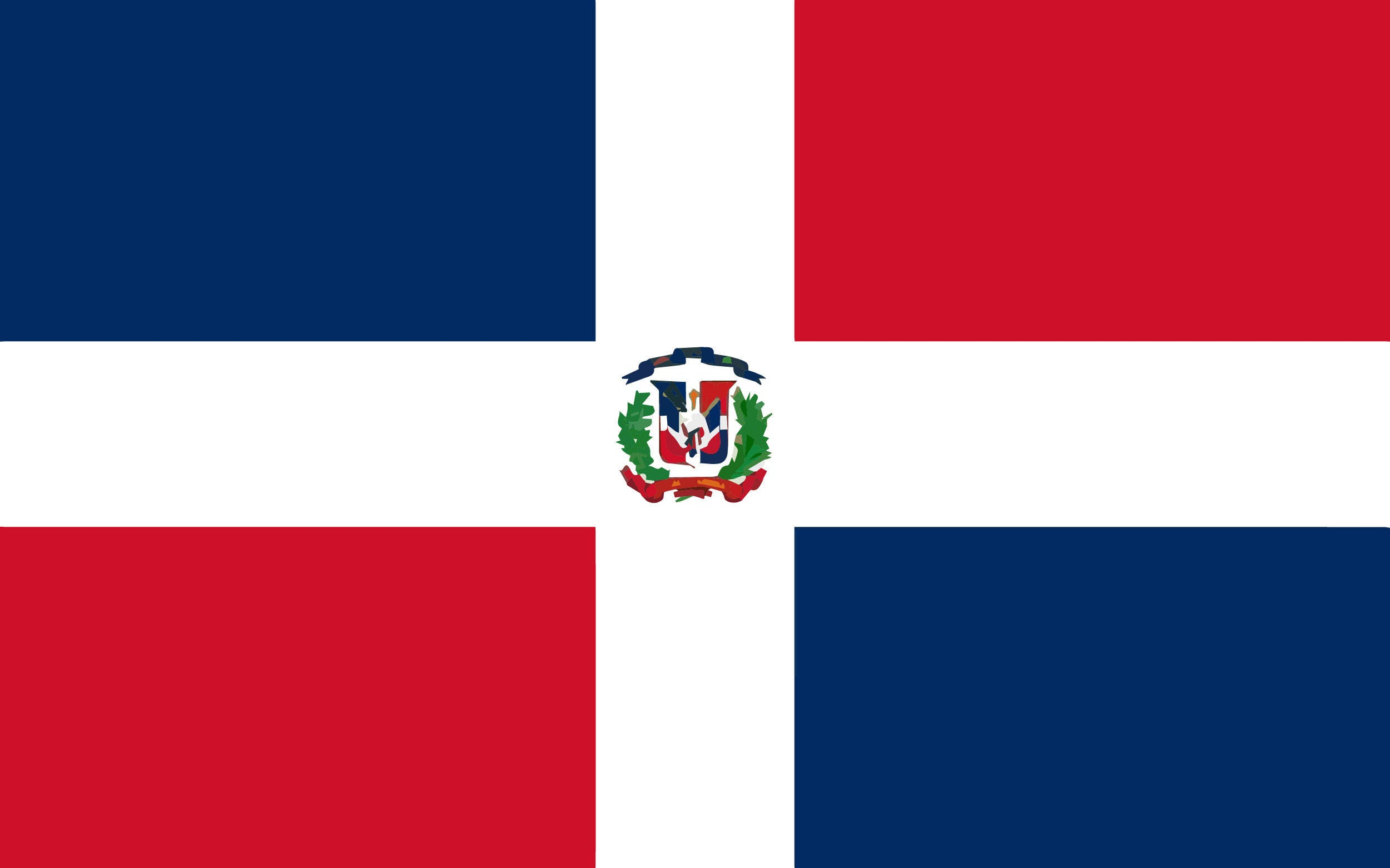 Dominican Republic Flag Country National Symbol National