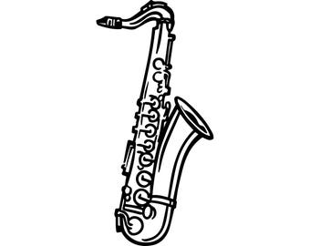 saxophone clip art black and white real clipart and vector graphics u2022 rh candelalive co uk