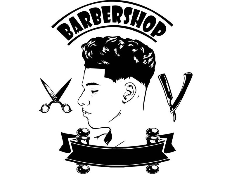 f80d41ad126 Man Hairstyle Barber Shop Grooming Hairdresser Cutting Hair image 0