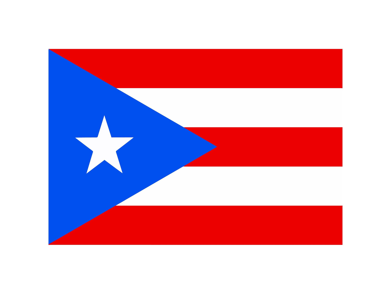 Puerto Rico Flag Patriotic Country National Symbol National Etsy