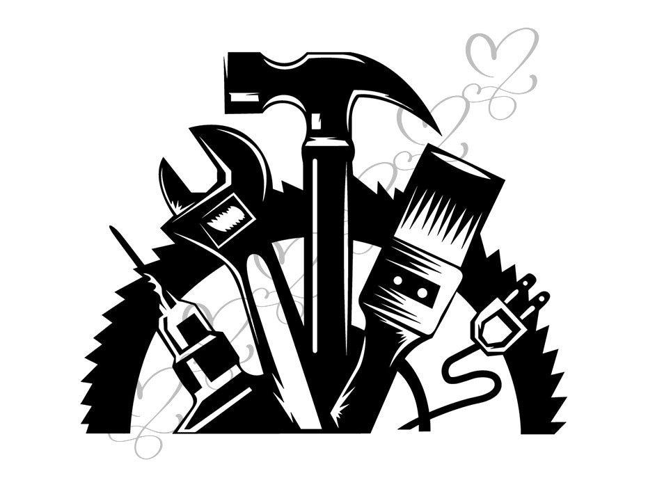 Wrench Hammer Screwdriver Repair Fix Handyman Hardware ...