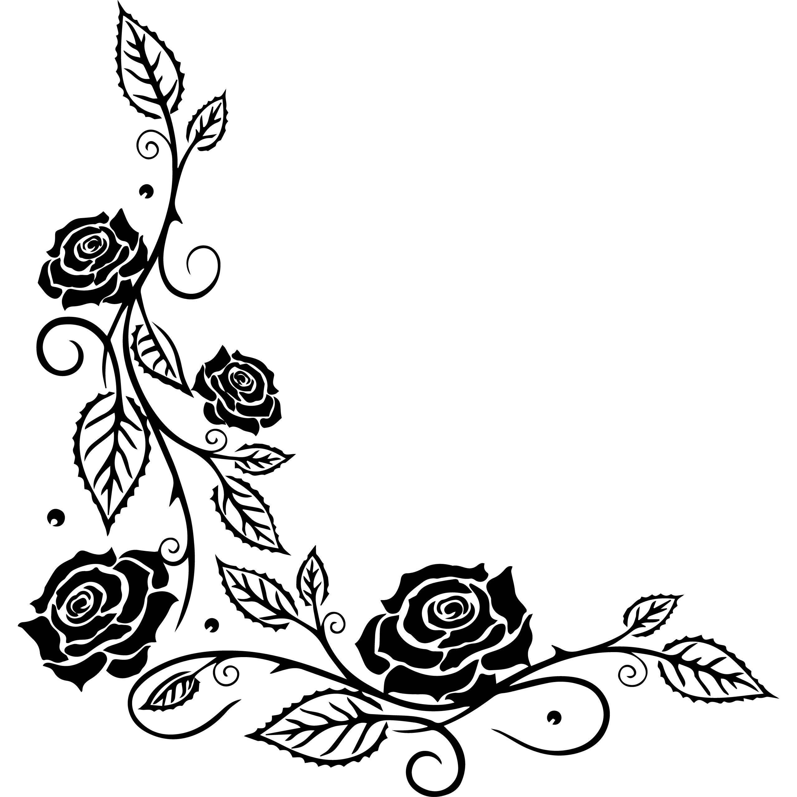 Elementos cintas logotipo flores rosas emblema lindo diseño Marcos ...