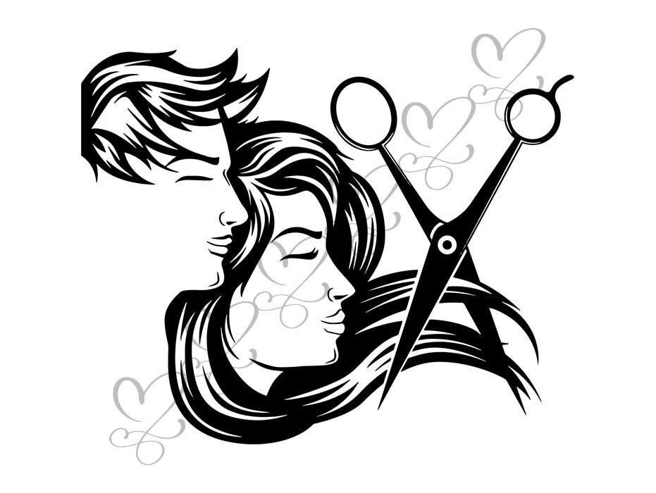 hair salon accessories barber scissors stylish barbershop