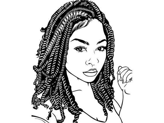 Black Woman Queen Diva Life Quotes Classy Lady Nubian African Etsy